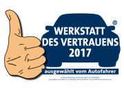Zufriedenheitsabfrage 2016 bei Kunden Freier Werkstätten. Durchgeführt von Mister A.T.Z.-Marketing, 58313 Herdeke - www.werkstatt-des-vertrauen.de