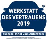 Zufriedenheitsabfrage 2018 bei Kunden Freier Werkstätten. Durchgeführt von Mister A.T.Z.-Marketing, 58313 Herdeke - www.werkstatt-des-vertrauen.de