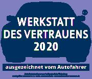 Zufriedenheitsabfrage 2019 bei Kunden Freier Werkstätten. Durchgeführt von Mister A.T.Z.-Marketing, 58313 Herdeke - www.werkstatt-des-vertrauen.de