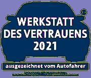 Zufriedenheitsabfrage 2020 bei Kunden Freier Werkstätten. Durchgeführt von Mister A.T.Z.-Marketing, 58313 Herdeke - www.werkstatt-des-vertrauen.de